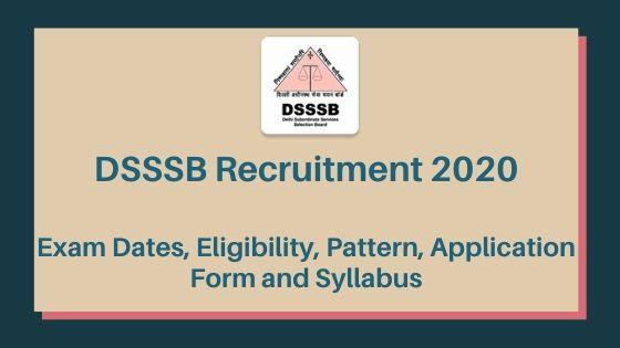 DSSSB 2020