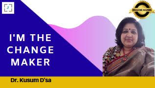 Dr. Kusum D'sa, a role model and a source of inspiration to numerous educators