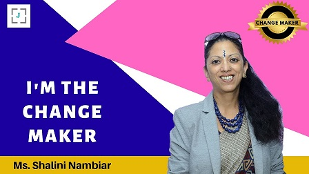 Shalini Nambiar An Educator who is not confined to the stereotypes of the traditional education system