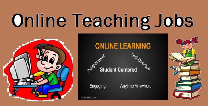 Job Opportunities in Online Teaching Sector