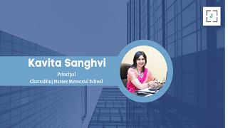 Ms. Kavita Sanghvi, Principal, C.N. M & N. D. Parekh Preprimary School