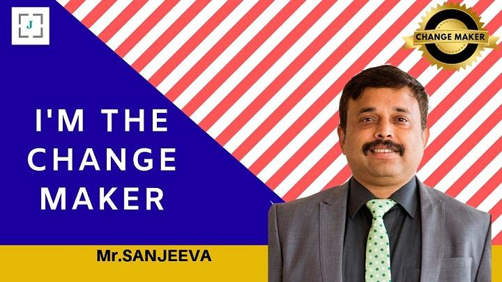 Jobors.com change maker Sanjeeva Kumar Sinha Principal