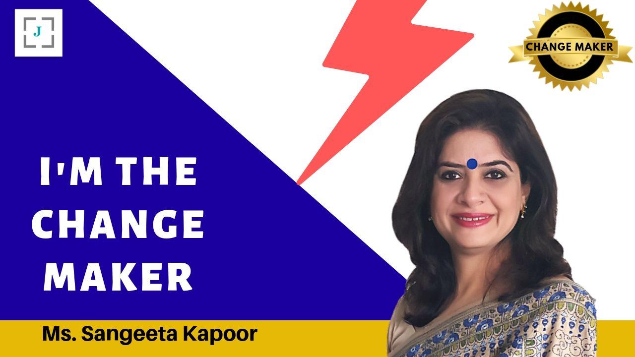 Jobors.com change maker Sangeeta Kapoor