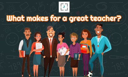 What makes for a great teacher?