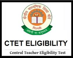 CTET Eligibility Criteria